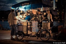 Das Foodbike in Aktion